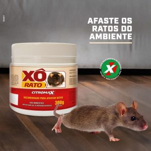 Afaste os ratos do ambiente